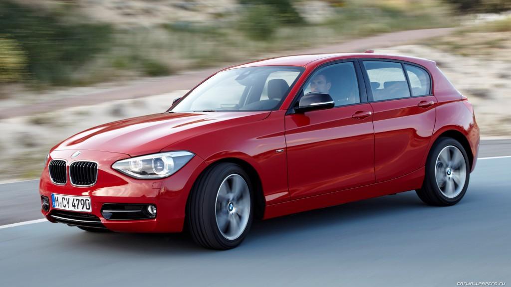 Автомобили BMW 1 серии – идеал комфортности