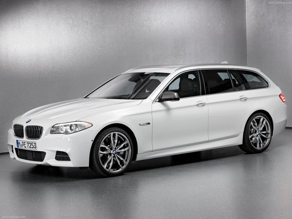 Новый BMW M550d Performance xDrive 2012 года