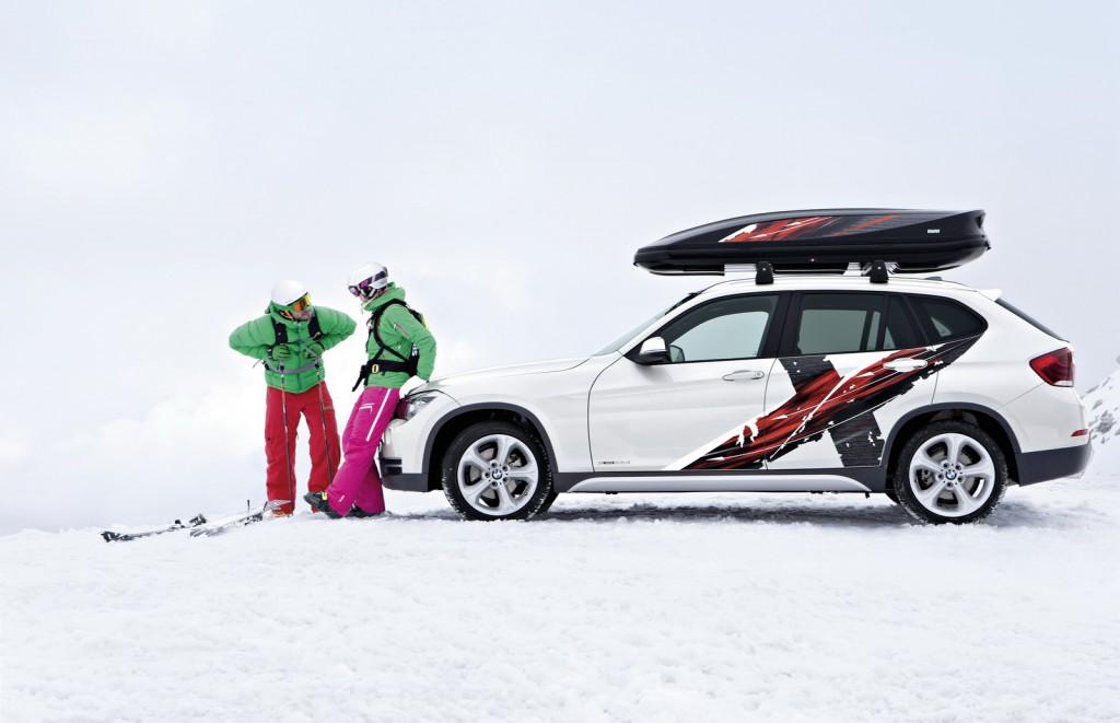 BMW для поездки в горы