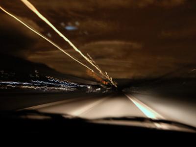 Особенности вождения авто ночью