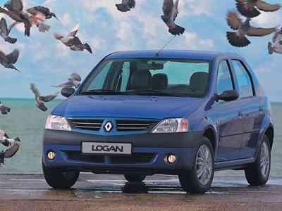 Популярность машин Renault Logan